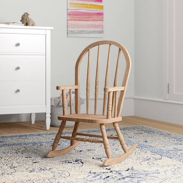 Terrific Esters Wood Arm Chair Rocking Wayfair Evergreenethics Interior Chair Design Evergreenethicsorg