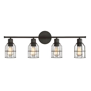 Great Price Mcmurtry 4-Light Vanity Light By Mercury Row