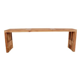 Thea Wood Bench By Union Rustic