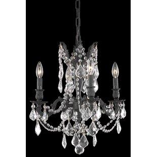 Astoria Grand Utica 4-Light Candle Style ..