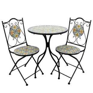 Given 3 Piece Bistro Set by Fleur De Lis Living