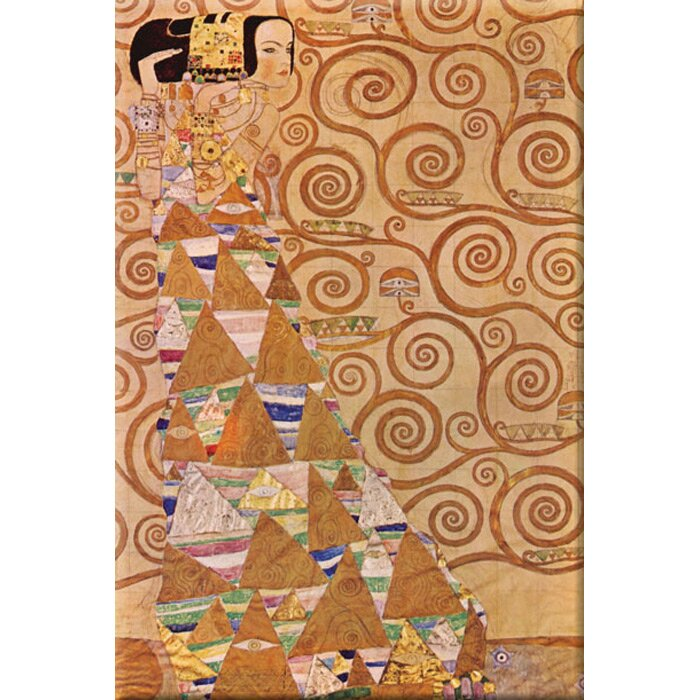 Anticipation     by Gustav Klimt  Giclee Canvas Print Repro