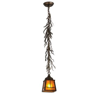 Millwood Pines Ullery 1-Light Bell Pendant