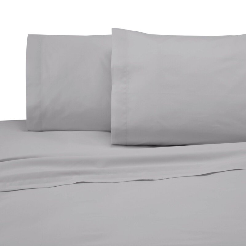 The Twillery Co. Okeefe 225 Thread Count Percale Sheet Set & Reviews | Wayfair
