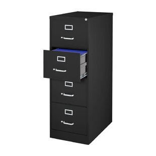 Madilyn 4-Drawer Metal Letter Size Vertical Filing Cabinet