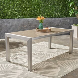 Phyllida Aluminum Dining Table