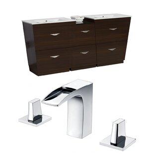 Dudelange 74 Double Bathroom Vanity Set by Royal Purple Bath Kitchen