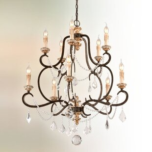 Beaman 10-Light Chandelier..
