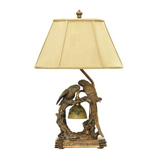 Great Price Laguerre Parrots 25 Table Lamp By Astoria Grand