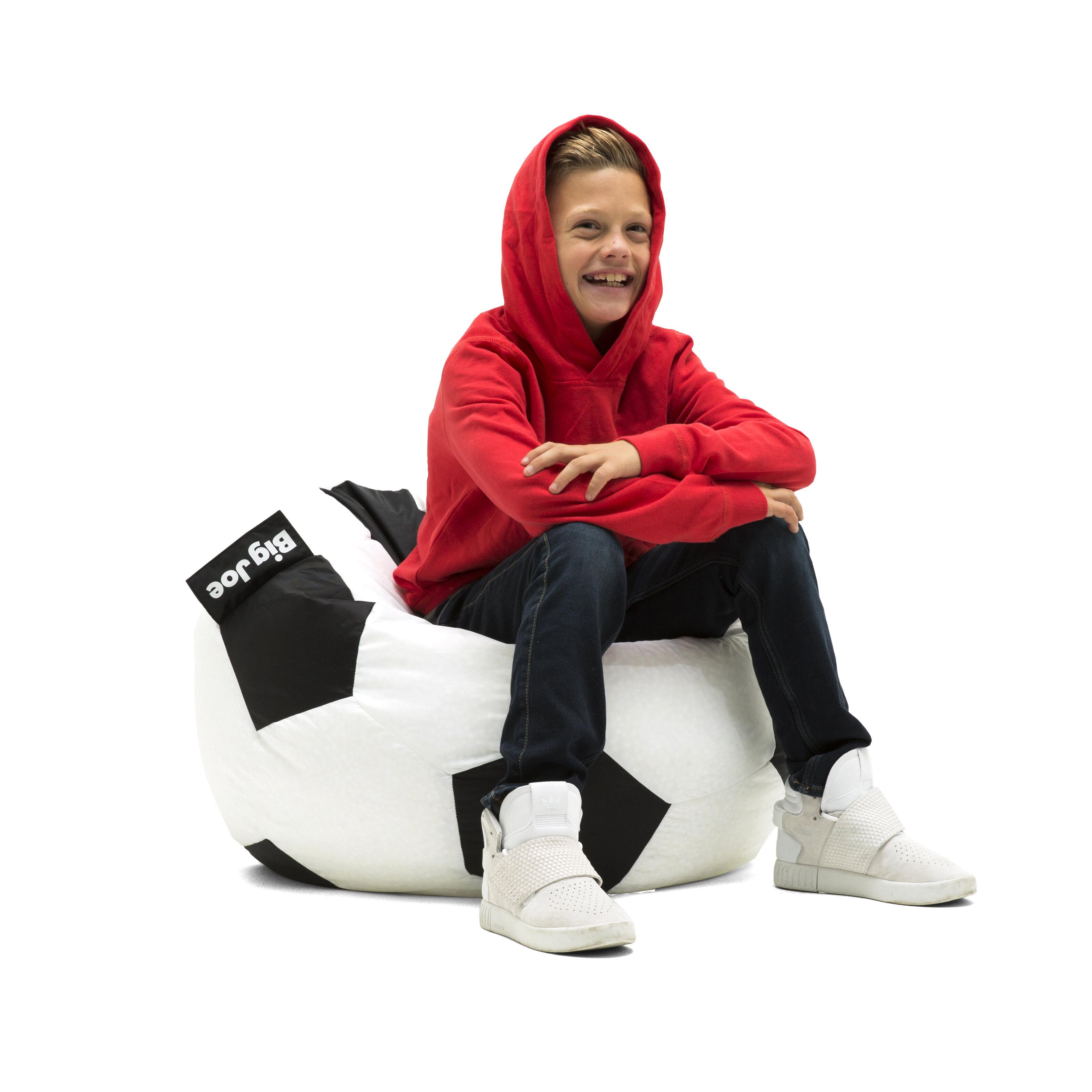 7cd2d65017e8 Comfort Research Big Joe Soccer Ball Bean Bag Chair   Reviews