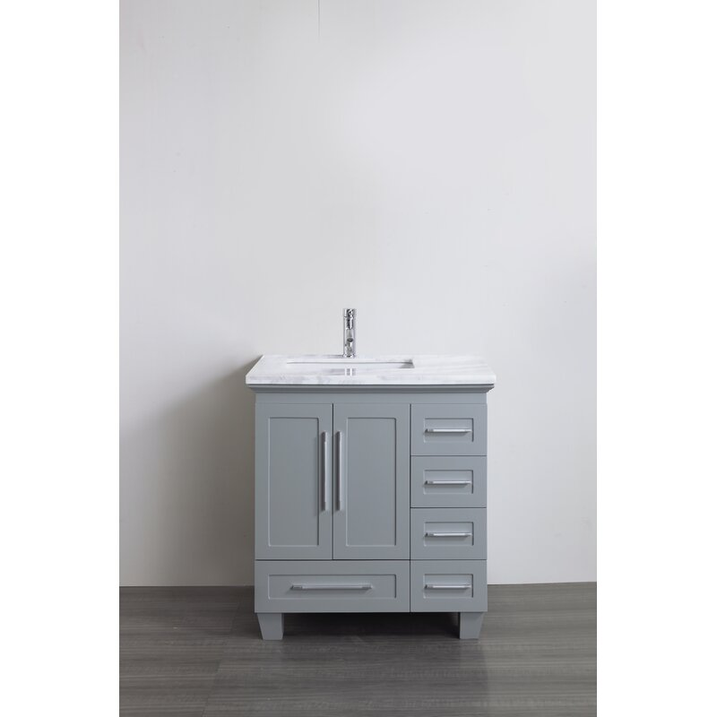 Furlow 30 Single Bathroom Vanity Set