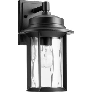 Low priced Osmond Modern 1-Light Outdoor Wall Lantern By Three Posts