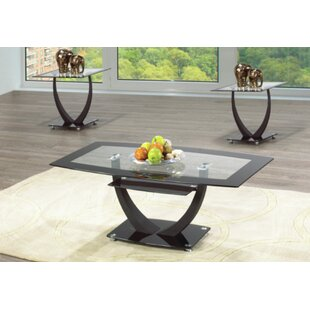 Rella 3 Piece Coffee Table Set