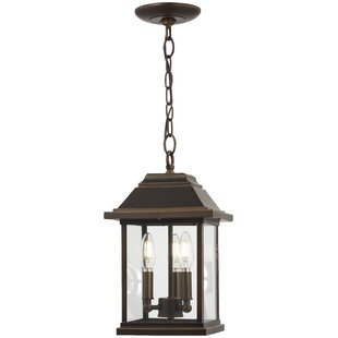 Charlton Home Duplantis 3-Light Outdoor Hanging Lantern