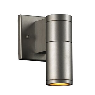 Reviews Kempst 1-Light Outdoor Sconce By Ebern Designs