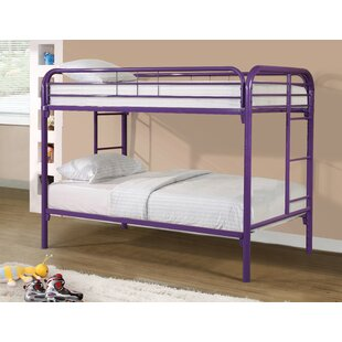 Cloverdale Modern Metal Bunk Bed