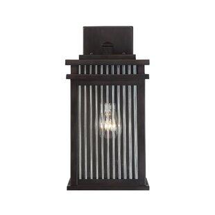 Reviews Lanclos 1-Light Outdoor Wall Lantern By Brayden Studio