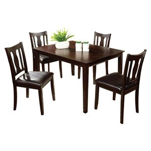 Roemer 5 Piece Dining Set Charlton Home