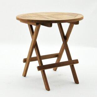 Maltby Folding Teak Side Table Image