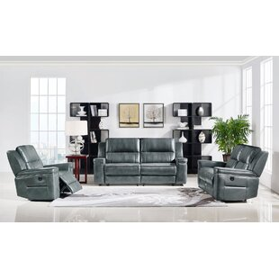 Tuttle Reclining 3 Piece Living Room Set ..