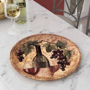 Aldergrove Round Platter