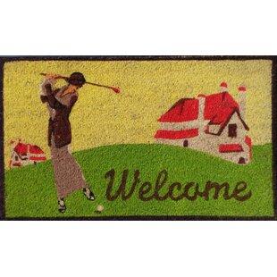 Merveilleux Golf Door Mat