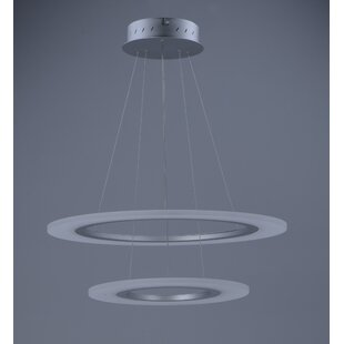 Orren Ellis Cassiopeia 2-Light LED Novelty Pendant