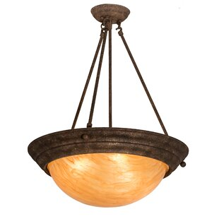 Fleur De Lis Living Grovetown 3-Light Bowl Pendant