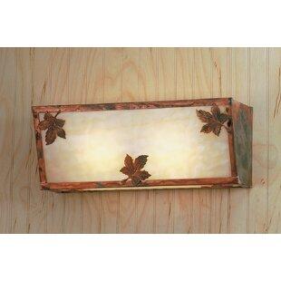 Meyda Tiffany Leaf 2-Light Bath Bar
