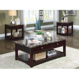 Charlton Home Recker 2 Piece Coffee Table Set