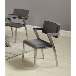 Rosalind Upholstered Dining Chair (Set of 2) Orren Ellis