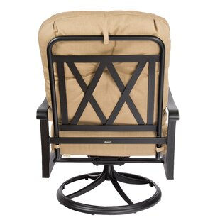 Cortland Swivel Rocking Lounge Chair by Woodard New