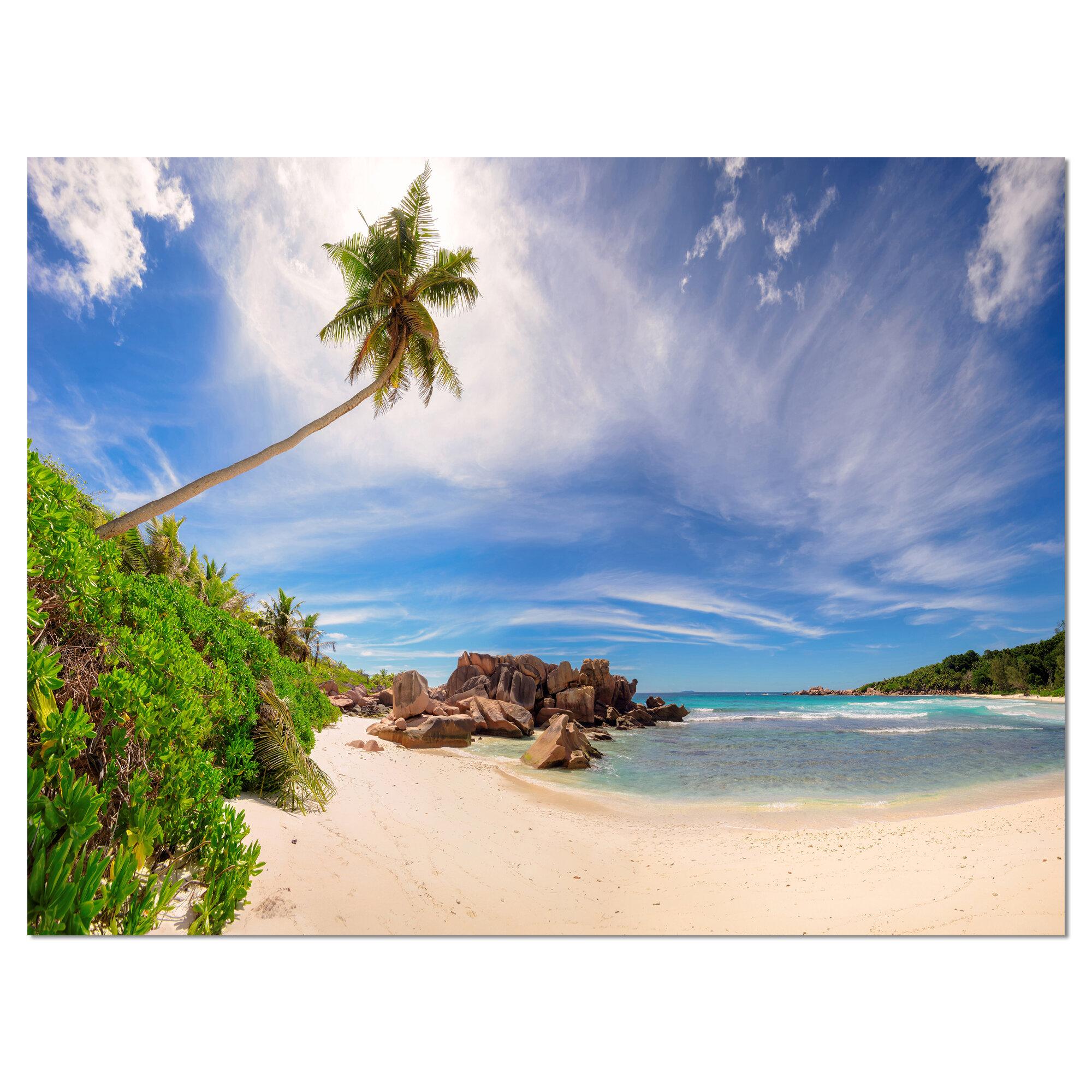 Seychelles Beach: DesignArt Beautiful Beach At La Digue Seychelles Large