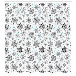 Snowflake Shower Curtain Sets Wayfair