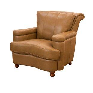 Heathridge Top Grain Leather Club Chair by Fornirama