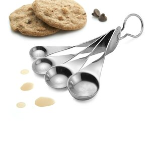 Twist 4 Piece Stainless Steel Measuring Spoon