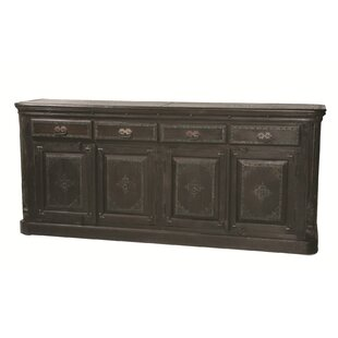 Pepe 4 Drawer Pillar Sideboard World Menagerie