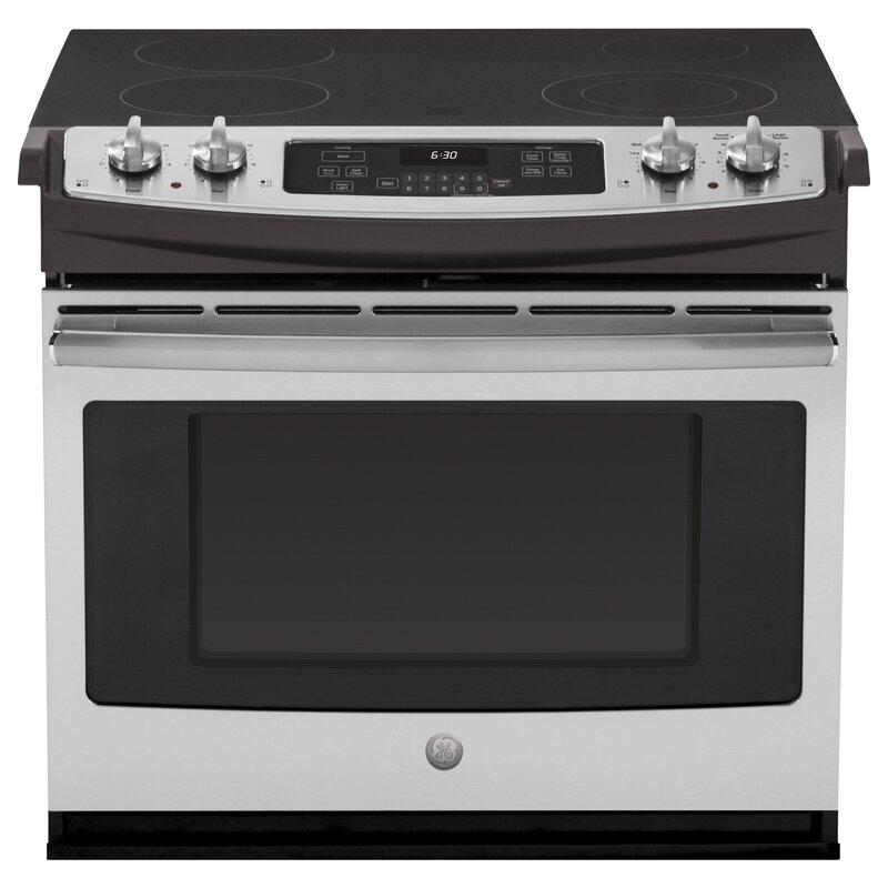 Ge Appliances 30 Quot 4 4 Cu Ft Drop In Electric Range