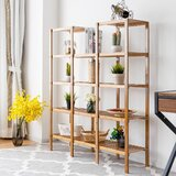 Stanger 55.5 H x 12.5 W Etagere Bookcase by Loon Peak®