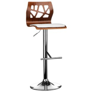 Height Adjustable Swivel Bar Stool By George Oliver
