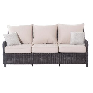 Macri Patio Sofa with Cushions by Red Barrel Studio