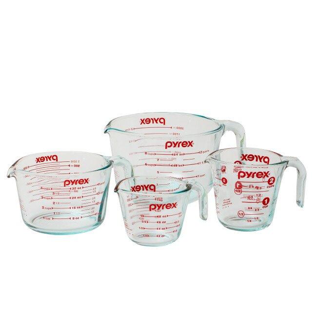Pyrex 4 Piece Measuring Cup Set