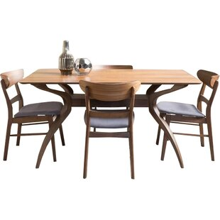 Yolanda 5 Piece Rectangular Dining Set Langley Street