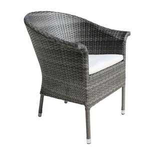 Saliba Patio Dining Chair with Cushion
