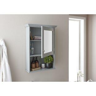 Hampton 67x47cm Surface Mount Mirror Cabinet By Wayfair Basics