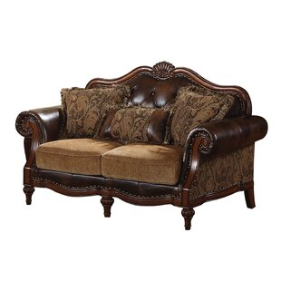 Astoria Grand Meza Upholstered Loveseat