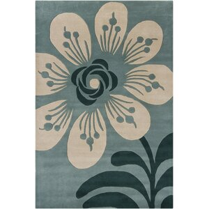 Arae Blue Area Rug