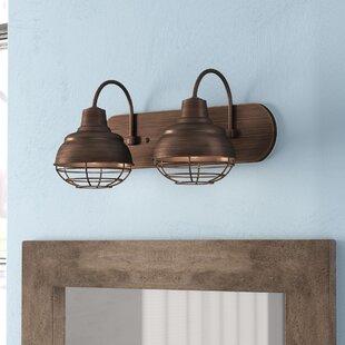 Big Save Bruges 2-Light Vanity Light ByTrent Austin Design