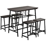 Eastgate 5 - Piece Counter Height Dining Set (Set of 5) by 17 Stories