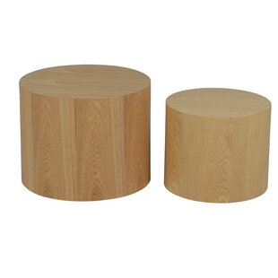 Dipaolo 2 Piece Coffee Table Set By Natur Pur